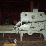 Petkus Gigant K-531 with Indented cylinder befor repair